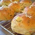 菠菜地瓜麵包(第2盤)
