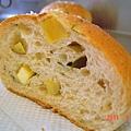 菠菜地瓜麵包(切面2)