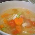 彩色蔬菜湯