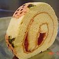 小草莓蛋糕捲with草莓醬檸檬奶油乳酪餡4