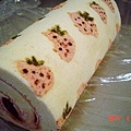 小草莓蛋糕捲with草莓醬檸檬奶油乳酪餡2
