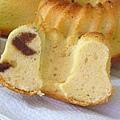 分蛋式奶油胖蛋糕切面