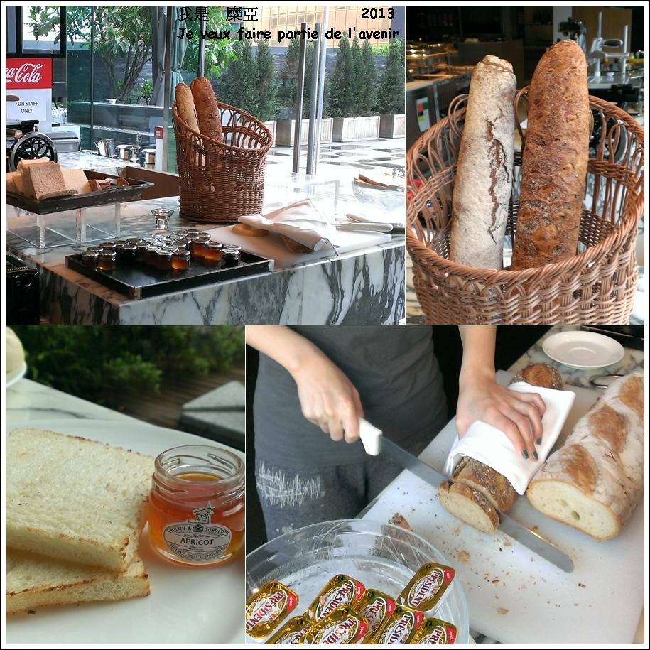 吐司切邊   麵包種類多  果醬也是單瓶取用~   小地方是有沒有這麼貼心啊