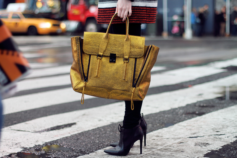 Phillip Lim-gold bag