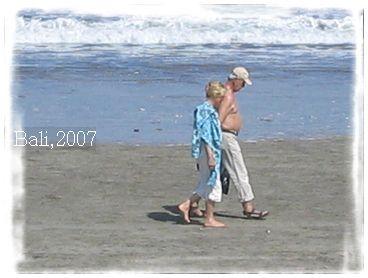 峇里島 庫打海邊漫步