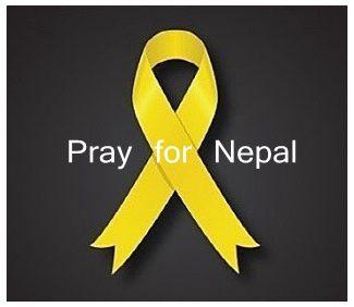 黃絲帶_為尼泊爾祈禱