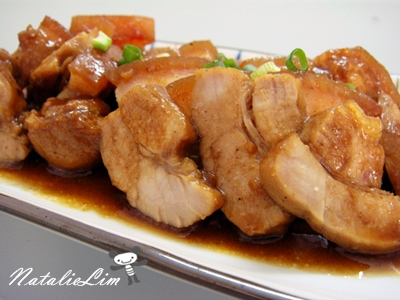 蒜香滷豬肉
