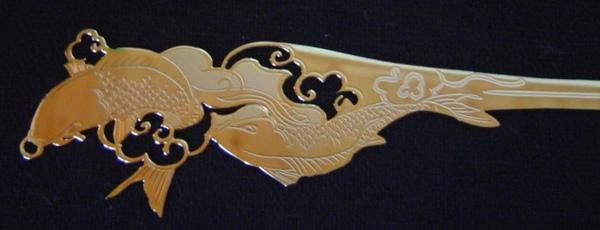 鯉魚簪書籤