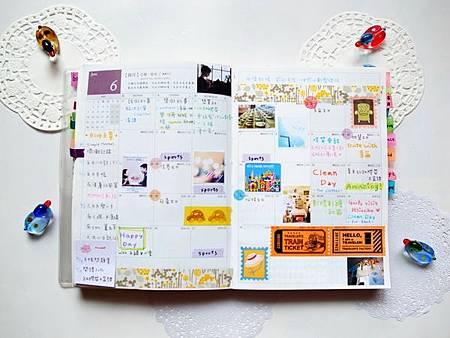 6月手帳分享02