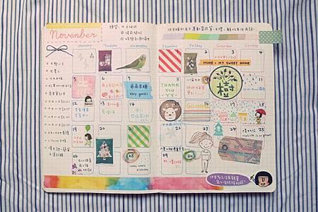 10-11月手帳分享16
