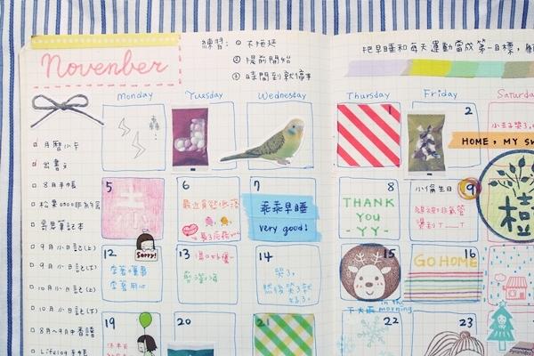 10-11月手帳分享53