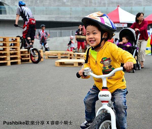 阿憲滑步車工作室-KUNDO專題介紹:笑容滿點的睿睿小騎士