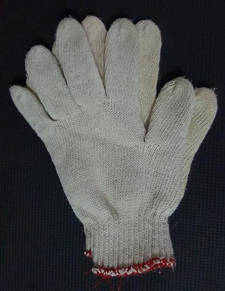 雙面全素工作手套(可以用)