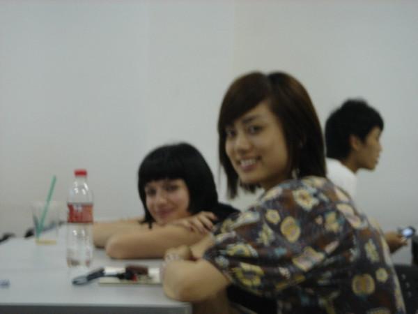 德國同學和上海美女