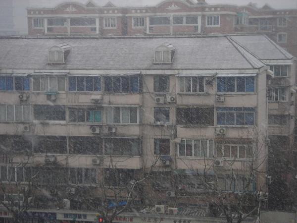 雪下的滿大的