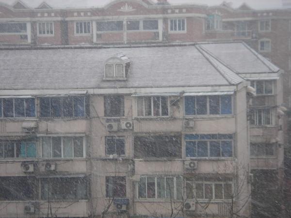 房屋上有積雪