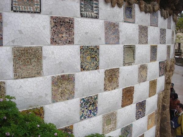 很美的磁磚牆