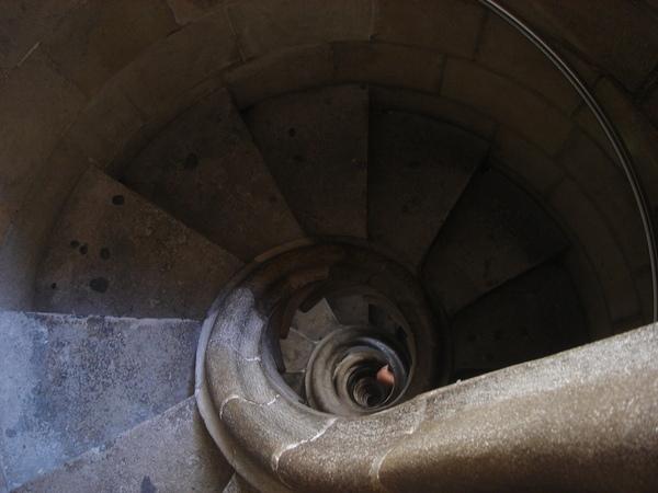 以蝸牛做為靈感的樓梯