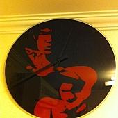 Bruce Lee Clock