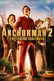 Image result for anchorman 2 poster