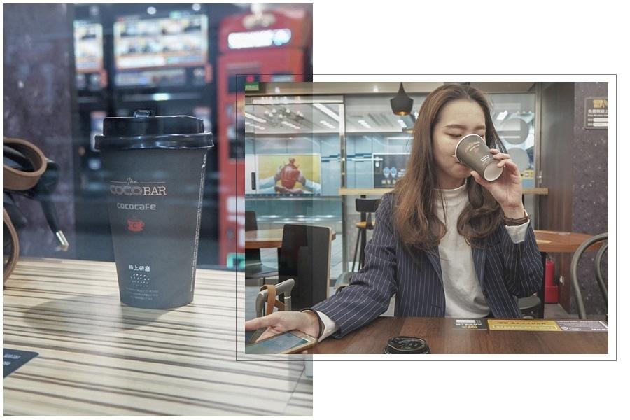大花說台北旅遊景點捷運松山站無人咖啡機cococafe07