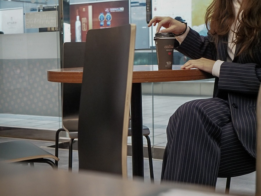 大花說台北旅遊景點捷運松山站無人咖啡機cococafe31