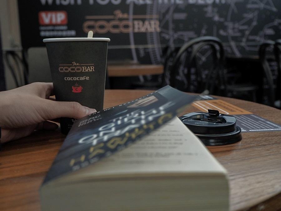大花說台北旅遊景點捷運松山站無人咖啡機cococafe08