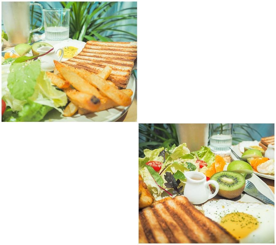 大花說台中早午餐景點餐廳大里煦苑菜單09