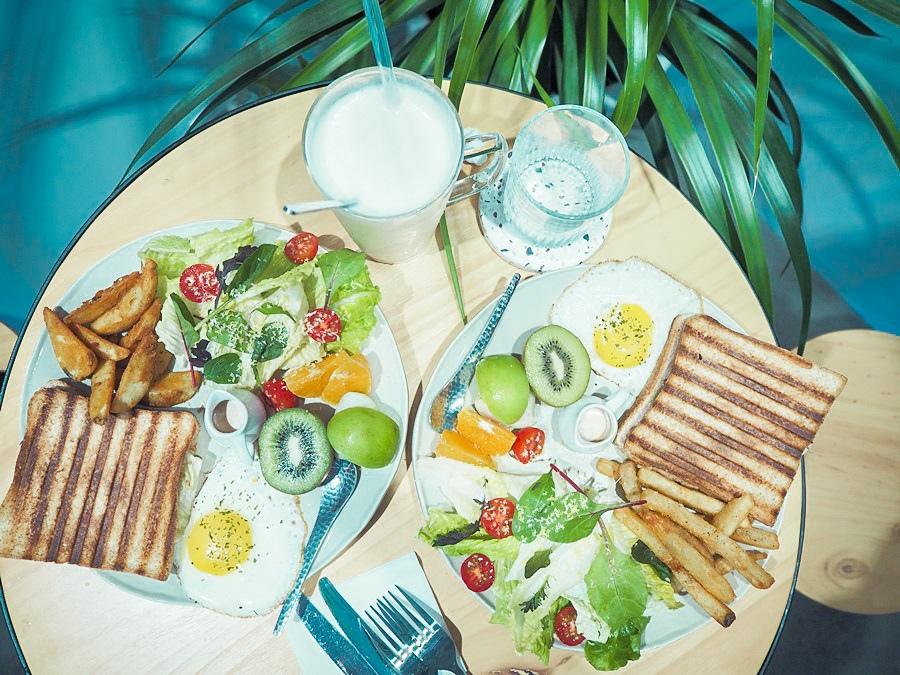 大花說台中早午餐景點餐廳大里煦苑菜單06