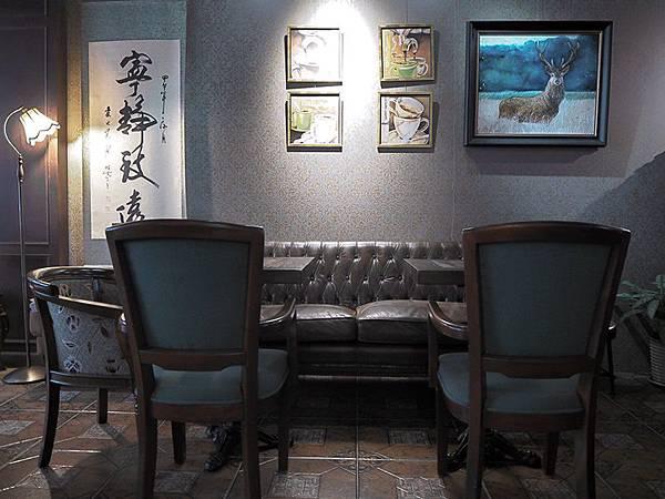 大花說台中咖啡廳下午茶大里美食亨利貞精品咖啡館09
