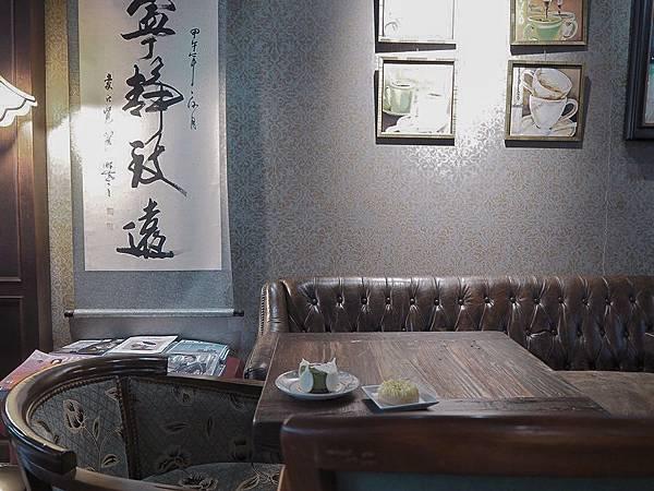 大花說台中咖啡廳下午茶大里美食亨利貞精品咖啡館12