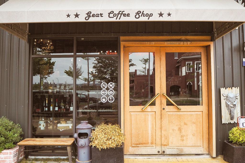 大花說齒輪咖啡gearmotocafeshop台中南屯區早午餐美食哈雷重機主題餐廳