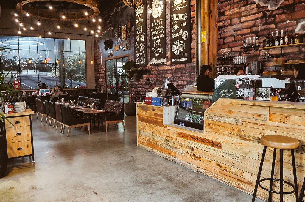 大花說齒輪咖啡gearmotocafeshop台中南屯區早午餐美食哈雷重機主題餐廳09