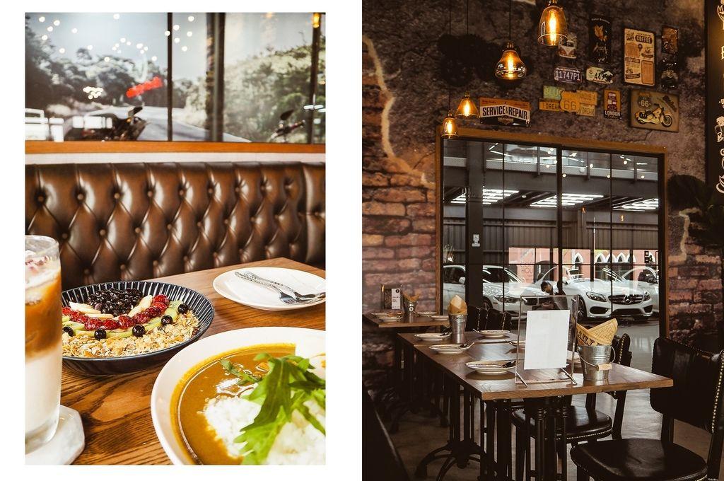 大花說齒輪咖啡gearmotocafeshop台中南屯區早午餐美食哈雷重機主題餐廳14