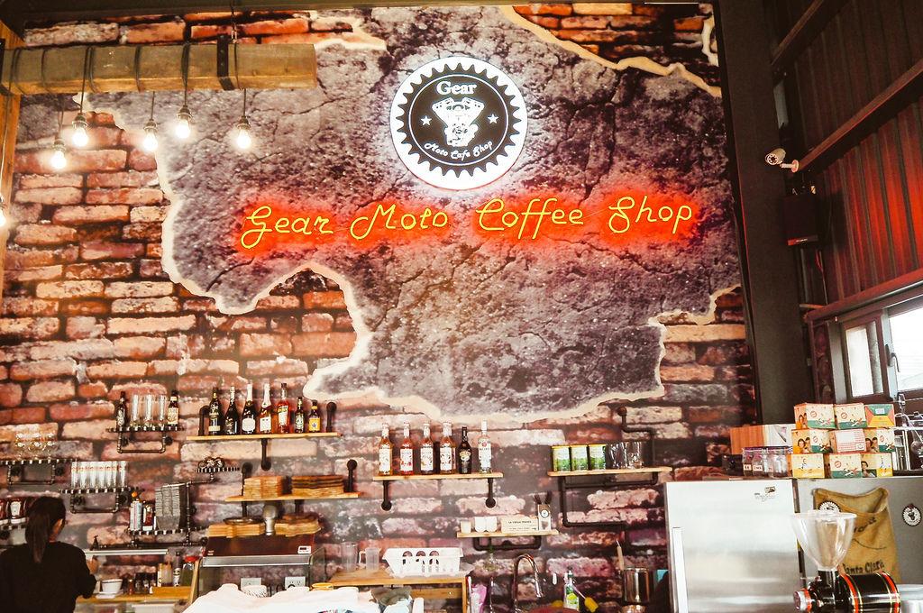 大花說齒輪咖啡gearmotocafeshop台中南屯區早午餐美食哈雷重機主題餐廳10