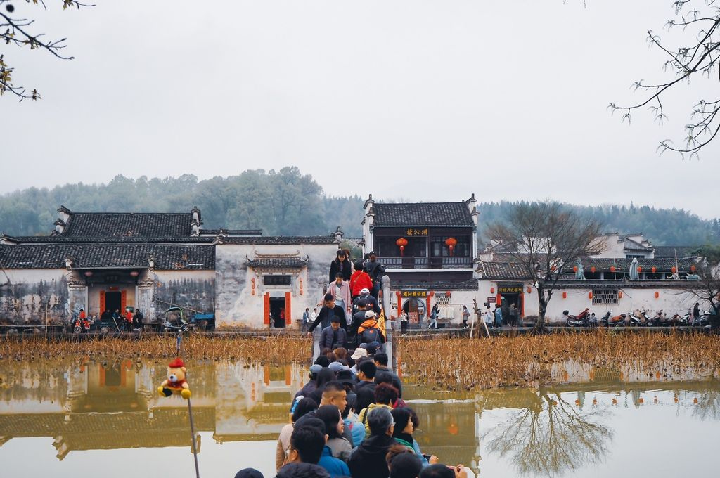 大花說中國大陸旅遊安徽黃山景點五天四夜huangshan跟團行程22