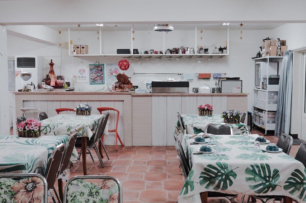 大花說苗栗公館客家合菜餐廳推薦和風食堂和風民宿12