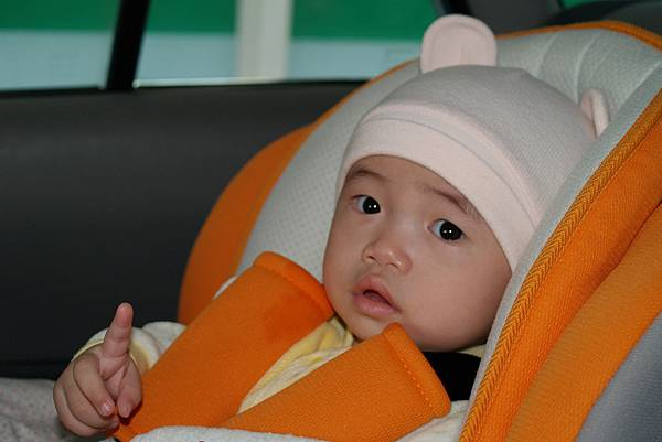 小羽球-0024小羽初乘安全座椅.jpg