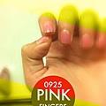 粉紅指甲近來心頭好