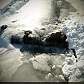 是說連河都結冰了