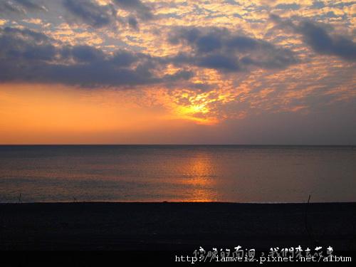 男迴的夕陽