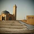 佔地很大的清真寺