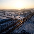 冰天雪地的瀋陽