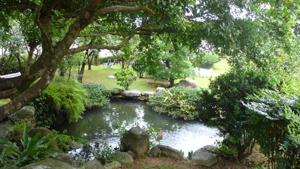 民宿「逢春園」的美麗景色