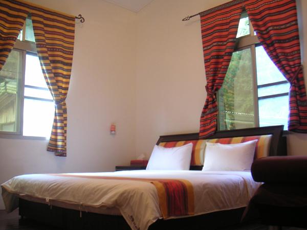 每一個房間的色調都不一樣