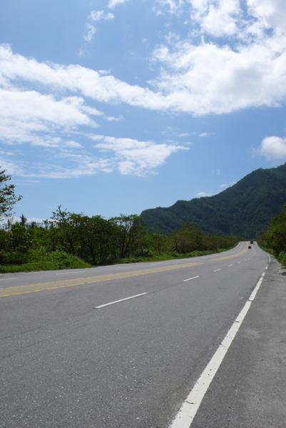 今天一上路就是好天氣  心情很優不過也很熱