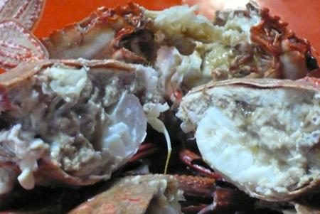 肉圓哥說一定要拍螃蟹肉  表示肉質很好