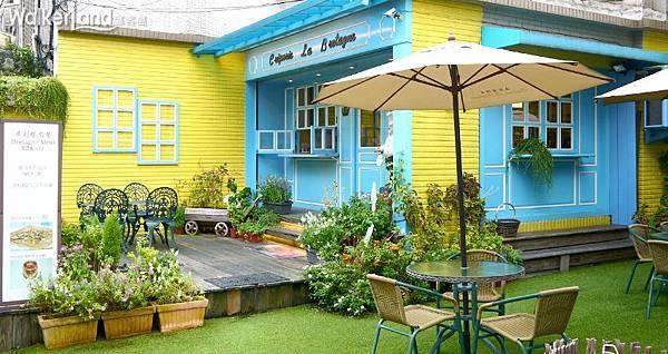 法蕾薄餅屋 可麗餅 布列塔尼 法式 庭園