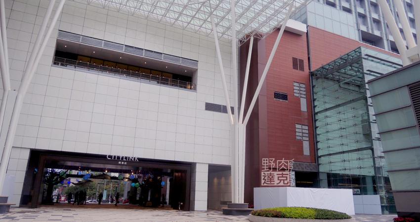 Citylink南港車站出入口