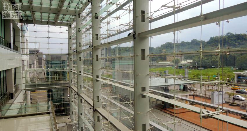 Citylink南港車站 內部建築結構